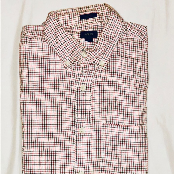 J. Crew Other - J.Crew, red and blue button down shirt